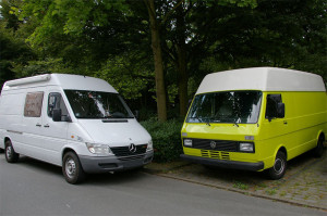 VW LT vs. Mercedes Sprinter