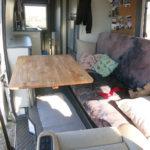 In Kombination mit der vorderen Drehkonsole entsteht eine gemütliche Sitzecke.