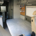 In wenigen Sekunden ist ein komfortables Bett mit einer Liegefläche von 1,90 x 1,30 Meter hergerichtet.